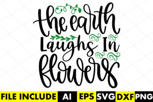 The Earth Laughs in Flowers Graphic Crafts By Crafthill260