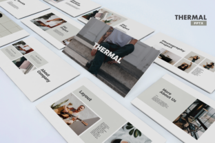 Thermal - Business Powerpoint Template Graphic Presentation Templates By Unicode Studio