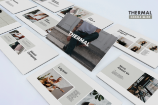 Thermal -  Google Slides Template Graphic Presentation Templates By Unicode Studio