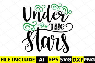 Under the Stars Graphic Crafts By Crafthill260