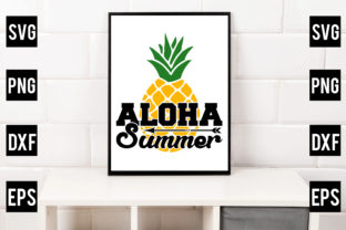 Aloha Summer Graphic Crafts By Crafthill260
