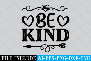 Be Kind Graphic Crafts By Printable Store