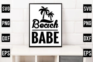 Beach Babe Graphic Crafts By Crafthill260