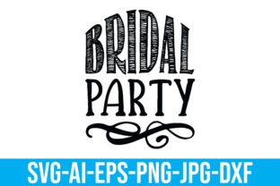 Bridal Party Graphic Crafts By Printable Store