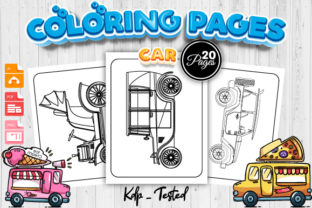 Print on Demand: Car Coloring Pages for Kids - KDP Graphic Coloring Pages & Books Kids By Trend Color