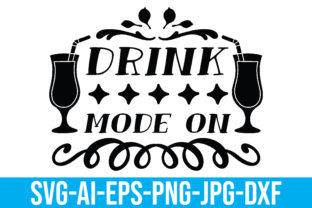 Drink Mode on Graphic Crafts By Printable Store
