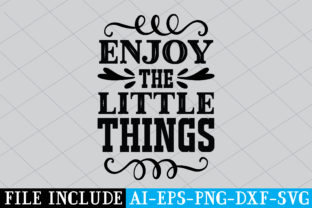 Enjoy the Little Things Graphic Crafts By Printable Store