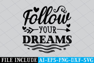 Follow Your Dreams Graphic Crafts By Printable Store