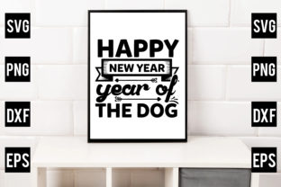 Happy New Year – Year of the Dog Gráfico Crafts Por Crafthill260