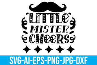 Little Mister Cheers Graphic Crafts By Printable Store