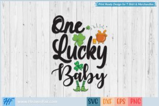One Lucky Baby Graphic Crafts By HeavenFair