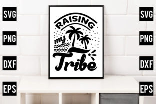 Raising My Tribe Graphic Crafts By Crafthill260