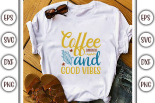 Print on Demand: Sunflower Quotes Design, Coffee Graphic Print Templates By GraphicsBooth