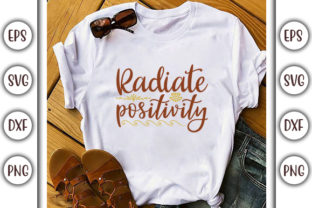 Print on Demand: Sunflower Quotes Design, Radiate Graphic Print Templates By GraphicsBooth