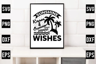 Sunshine Kisses & Summer Wishes Graphic Crafts By Crafthill260