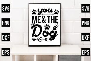 You, Me & the Dog Gráfico Crafts Por Crafthill260