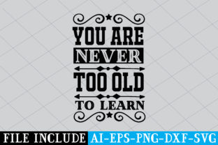 You Are Never Too Old to Learn Graphic Crafts By Printable Store