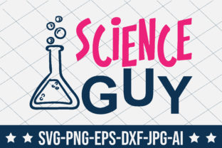 Science Guy Graphic Crafts By crafthome