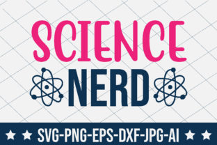 Science Nerd Graphic Crafts By crafthome