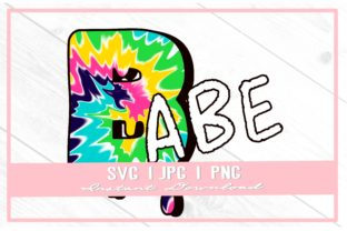 Print on Demand: 90s Babe Tie Dye Bachelorette Bridesmaid Graphic Illustrations By thecouturekitten