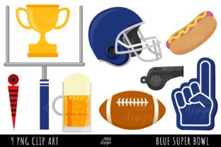 AMERICAN FOOTBALL, BLUE TEAM FOOTBALL Graphic Illustrations By TereVela Design