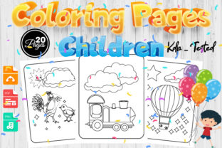 Print on Demand: Children Coloring Pages for Kids Vol 1 Graphic Coloring Pages & Books Kids By Trend Color