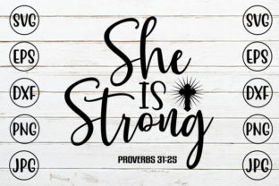 She is Strong Graphic Crafts By ismetarabd