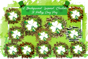 Print on Demand: St Patricks Day Sublimation Backgroun Graphic Backgrounds By DenizDesign