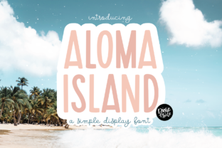 Print on Demand: Aloma Island Sans Serif Font By dixietypeco