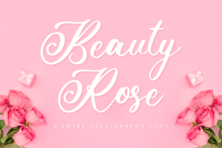 Print on Demand: Beauty Rose Script & Handwritten Font By NissaStudio