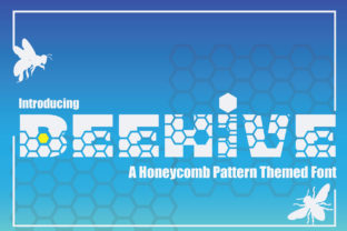 Print on Demand: Beehive Decorative Font By KtwoP