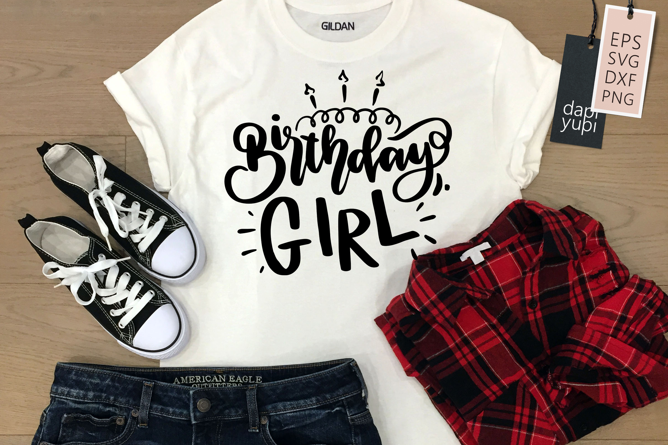 Birthday Girl, Birthday Lettering Quotes SVG File