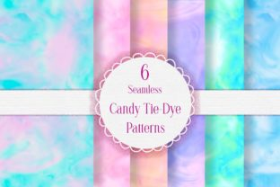 Candy Tie Dye Seamless Patterns Graphic Graphic Backgrounds By i love BlueBelle