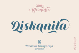 Print on Demand: Diskanila Script & Handwritten Font By ekahermawan