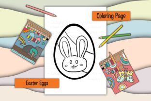Print on Demand: Easter Eggs 14 Graphic Coloring Pages & Books Kids By 18 Curo caT