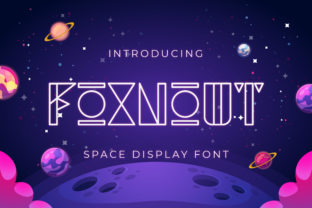 Print on Demand: Foxnout Display Font By TypeFactory