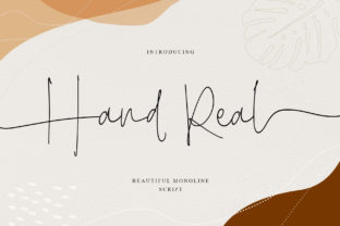 Print on Demand: Hand Real Script & Handwritten Font By Alit Design
