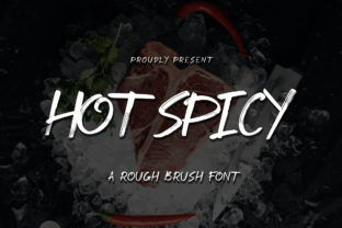 Print on Demand: Hot Spicy Display Font By ibracreative