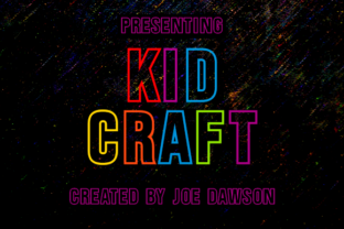 Print on Demand: Kid Craft Display Font By Joe Dawson