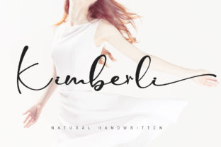 Print on Demand: Kimberli Script & Handwritten Font By thomasaradea