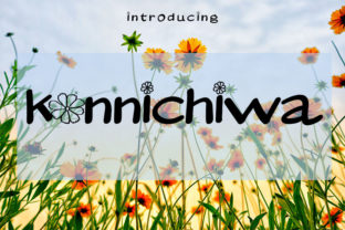 Print on Demand: Konnichiwa Display Font By muhawk47