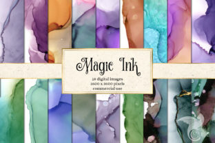 Print on Demand: Magic Ink Backgrounds Graphic Textures By Digital Curio