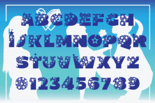Print on Demand: Magical Mom Display Font By KtwoP 2