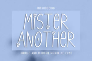 Print on Demand: Mister Another Script & Handwritten Font By Masha Artifex