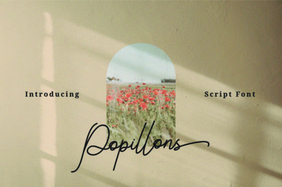 Print on Demand: Popillons Script & Handwritten Font By KaryAmo