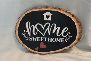 Rustic Farmhouse Sign with Vinyl Lettering