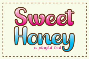 Print on Demand: Sweet Honey Display Font By Black Lotus