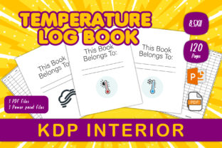 Print on Demand: Temperature Log Book for KDP Interiors Graphic KDP Interiors By IsaraDesign