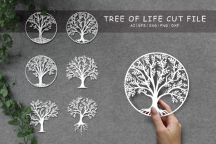 Tree of Life Svg, Oak Svg, Family Tree Graphic Crafts By AllmoStudio