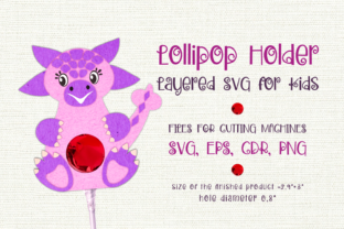 Print on Demand: Ankylosaurus-Lollipop Holder Template Graphic 3D SVG By Olga Belova